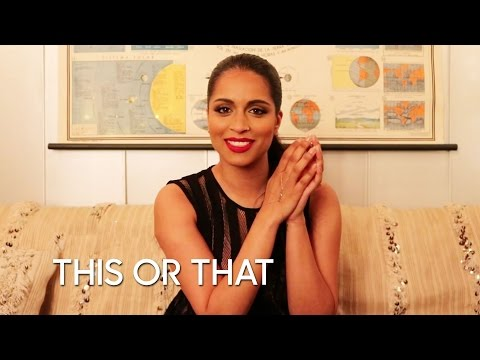 Would You Rather: Lilly Singh