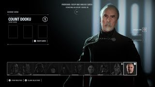 Star Wars Battlefront 2 - Count Dooku Gameplay! (Heroes VS Villains)