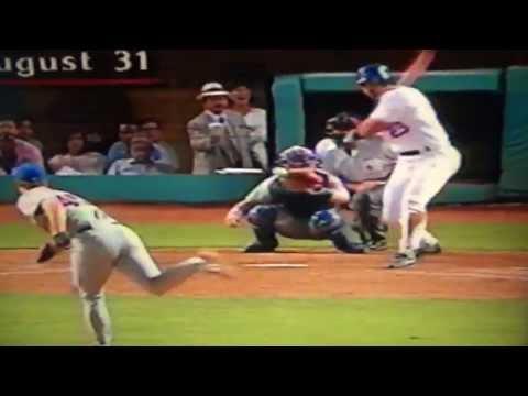 Brett Butler Scores Winning Run On Bizarre Play Against New York Mets!