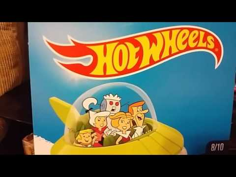 The Future Presents 2017 Mattel Hot Wheels HW Screen Time The Jetsons Capsule Car Showcase & Review