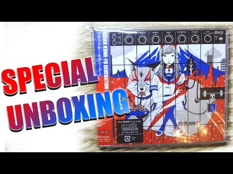 SPECIAL UNBOXING -ASIAN KUNG-FU GENERATION [BLOOD CIRCULATOR] CD [GERMAN]