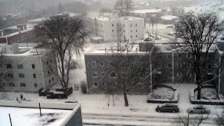 New York Blizzard 2015 - Drone Aerial Footage New York Snow Storm 2015 Largest in NYC!!