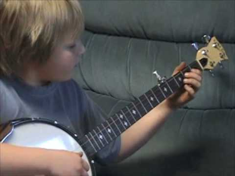 9 Year Old Clawhammer Banjo Player