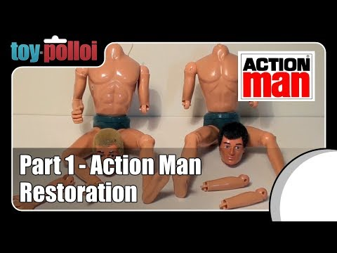 Fix it guide - Action Man restoration part 1