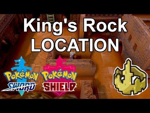 King's Rock Location - Pokemon Sword/Shield