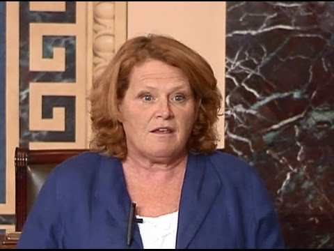 Heitkamp Urges Colleagues to Support Compromise Bill on GMO Labeling