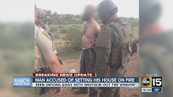 Man accused of setting Gold Canyon house on fire