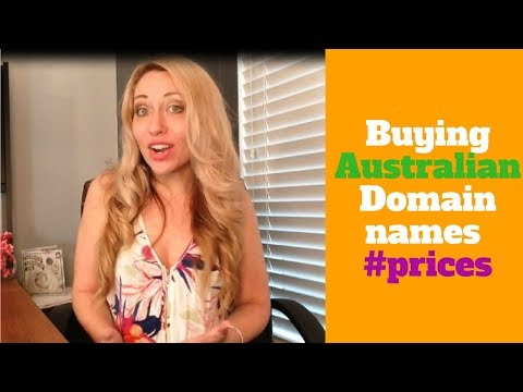 Buying a Australian Domain Name  and Website registration
