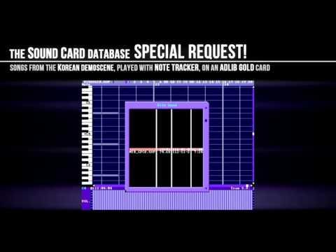 Korean Demoscene songs on NOTE Tracker (AdLib Gold)