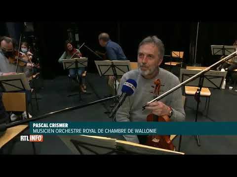 Concours Reine Elisabeth : l'Orchestre Royal de Chambre de Wallonie répète