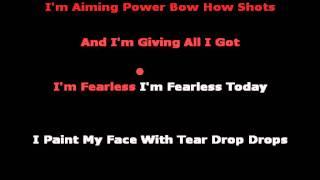 Geronimo - Aura Dione [Karaoke/Instrumental With Backing Vocals]