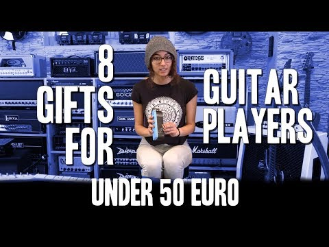 8 Gifts for Guitar Players under 50 Euro