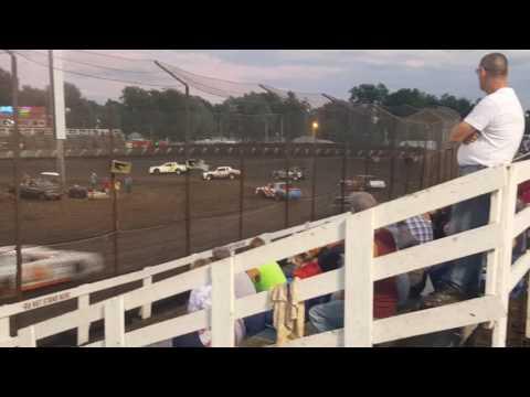 Macon Speedway heat 1