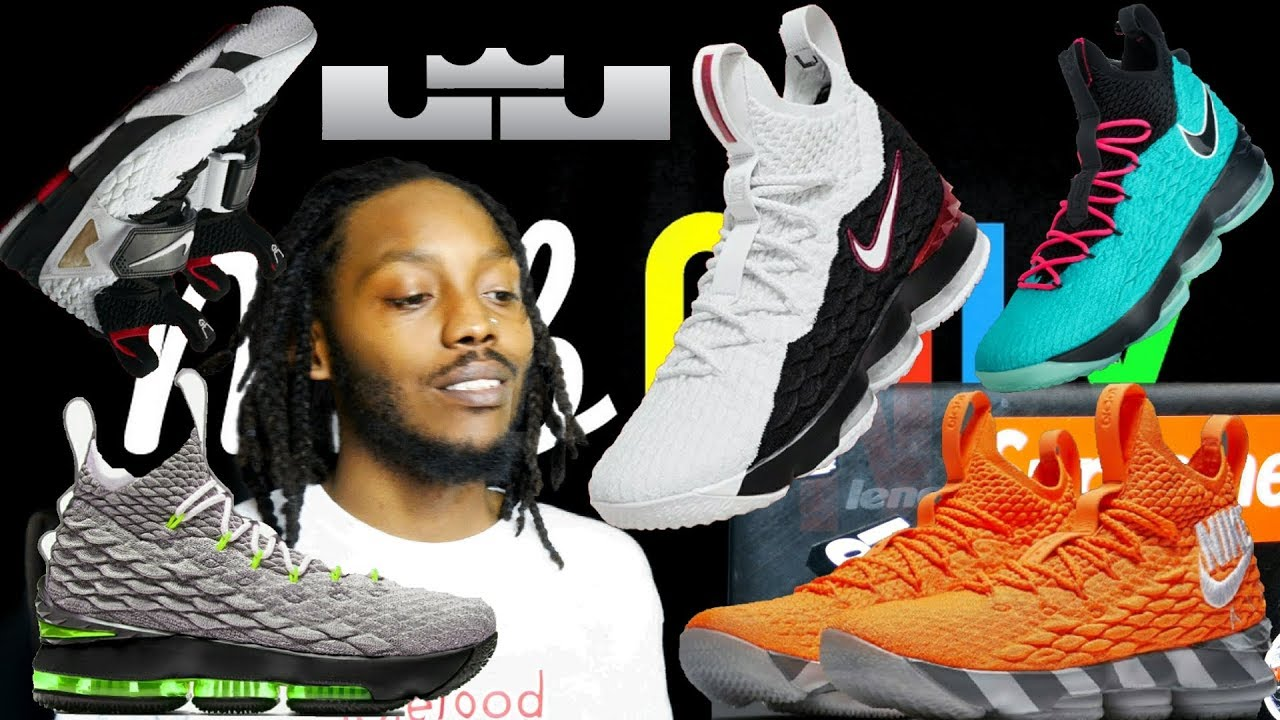cef22b09258e24 Everything you NEED to KNOW -Nike Lebron 15 Watch Collection - YouTube