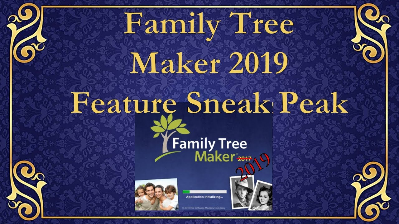 New Family Tree Maker 2019 Coming this Summer with some NICE new features!