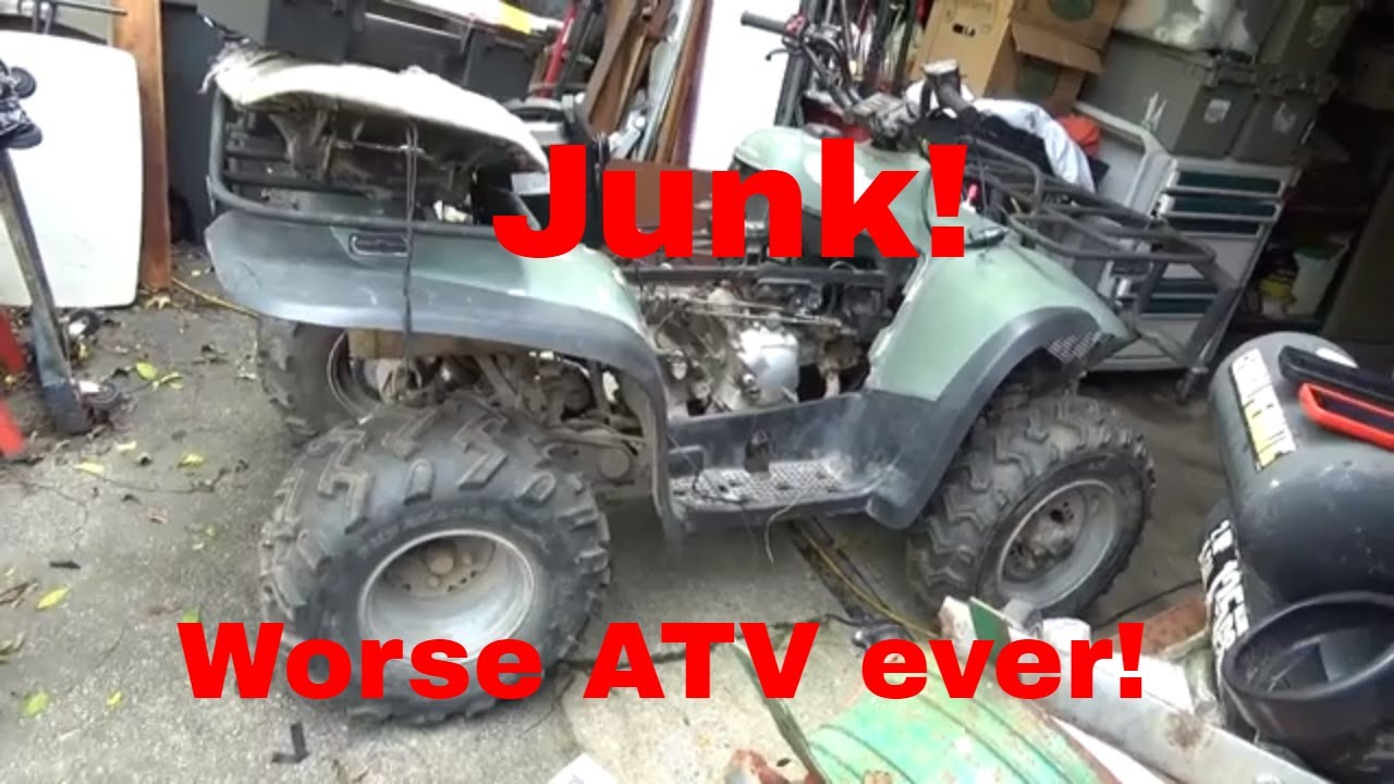 worse atv ever quad is barely worth the parts it is built from  [ 1280 x 720 Pixel ]