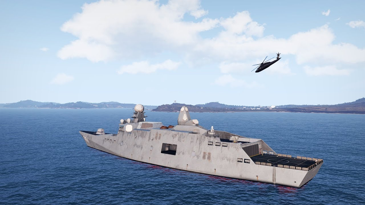 Arma 3 free update adds a new ship, SAMs, and small-diameter