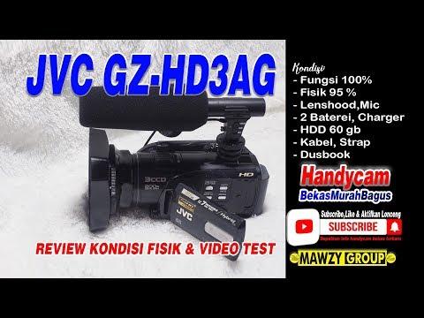#diJUAL# Handycam JVC GZ-HD3AG review & video tes