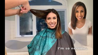 I cut my wife's hair! | How to Trim Women's Hair