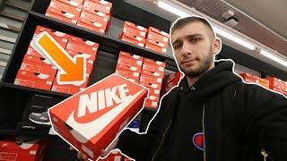 NIKE OUTLET STORE IN LONDON! BLACK FRIDAY STEALS!