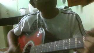 """Chilipiga Chusthavala "" On Guitar"