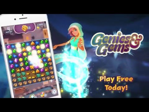 Genies & Gems Puzzle Game | Jam City