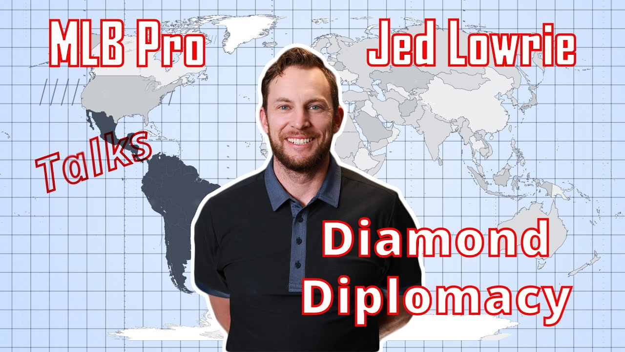 Jed Lowrie talks Sports Diplomacy through Project Beisbol #MLB