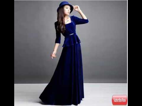 Long dress For Women - YouTube