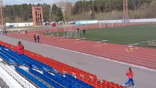 Первенство школ города Северска по лёгкой атлетике среди девочек 2004 год и младше 110м с/б