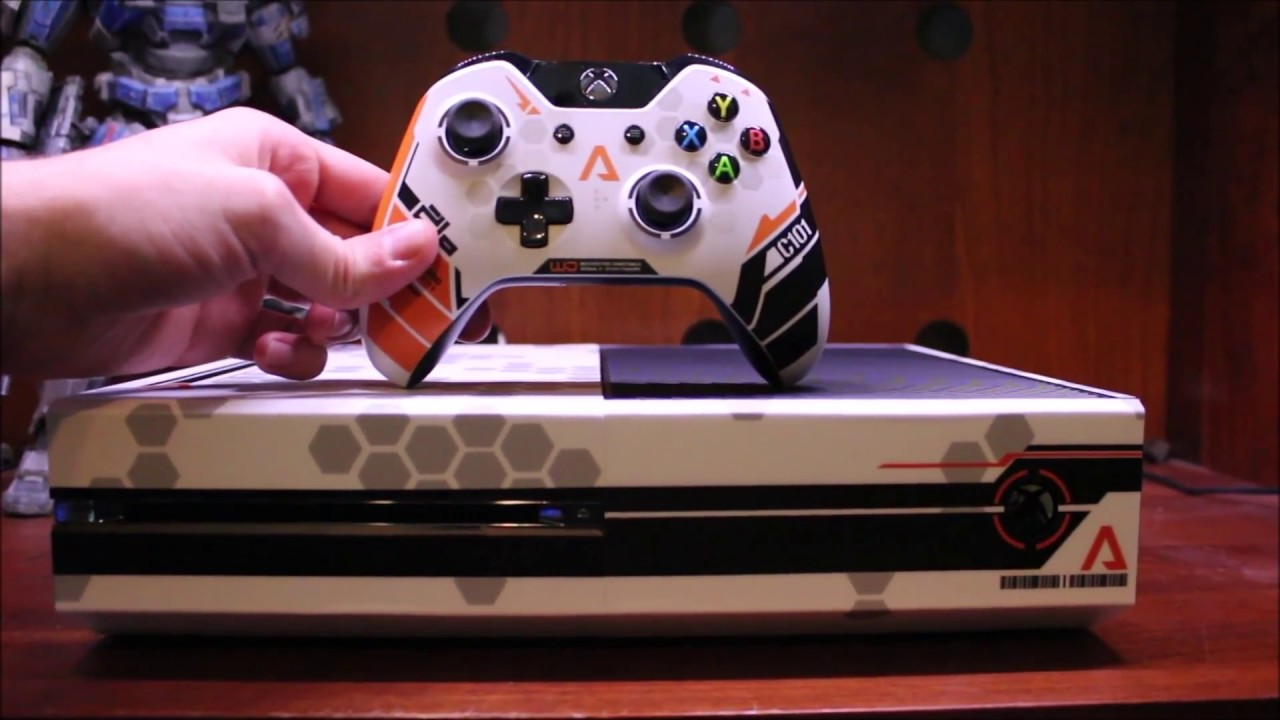 Titanfall Xbox One Console Custom Skin Wrap - YouTube