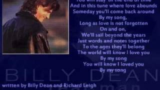 Watch Billy Dean If I Could Find The Heart to Love Again video