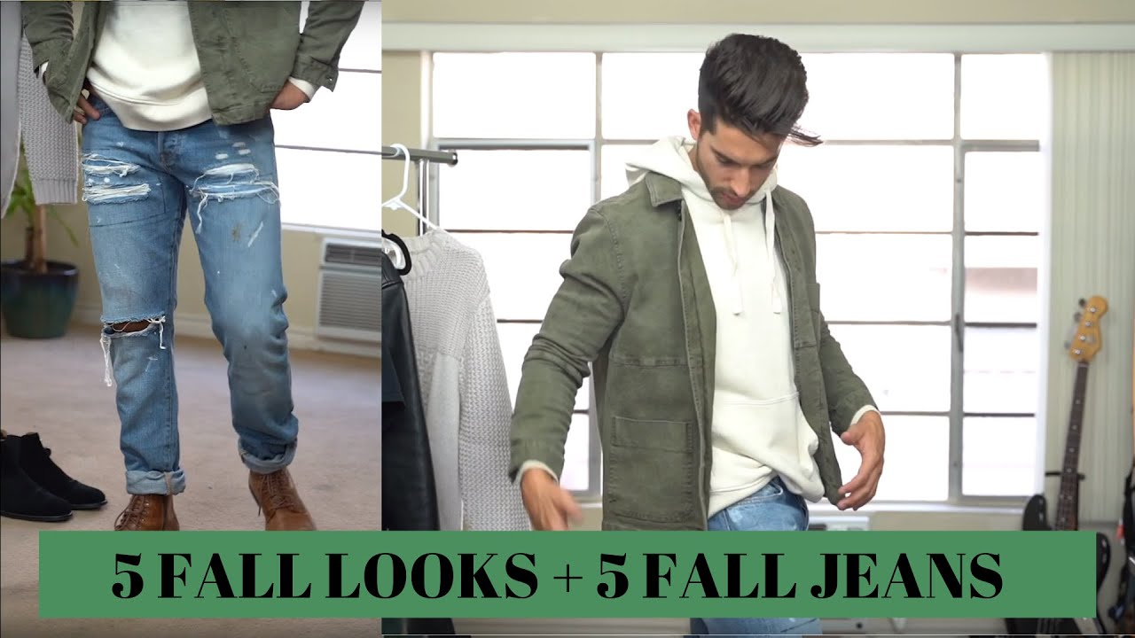 [VIDEO] - 5 Fall Jeans for 5 Fall Looks | Fall Outfit Inspiration 1