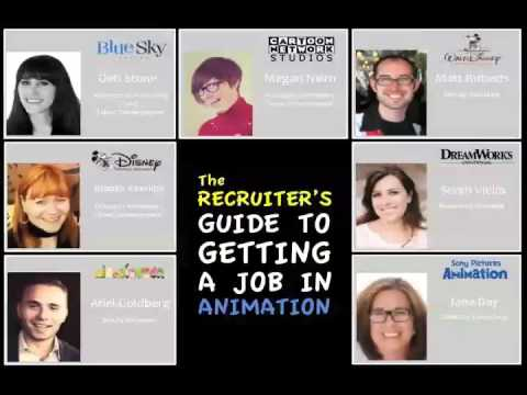 Recruiter's Guide to getting a job in animation low
