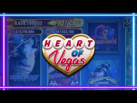 Slots: Heart of Vegas™ – Free Slot Casino Games - Apps on