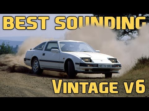 10 Best Sounding Classic V6 Engines