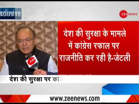 Watch: In an exclusive conversation with Finance Minister Arun Jaitley