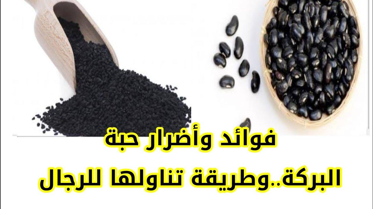فوائد وأضرار حبة البركة و طريقة تناولها للرجال حبة البركة