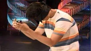 Projeto Super-humanos Discovery Channel - Gabriel Barbar resolve Cubos Mágicos de Olhos Vendados