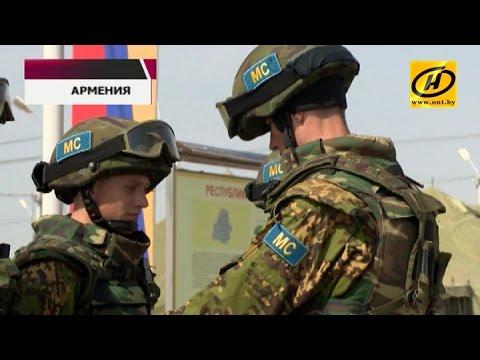 Белорусские военные на учениях «Нерушимое братство-2015»