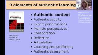 Authentic learning 1: AUTHENTIC CONTEXT