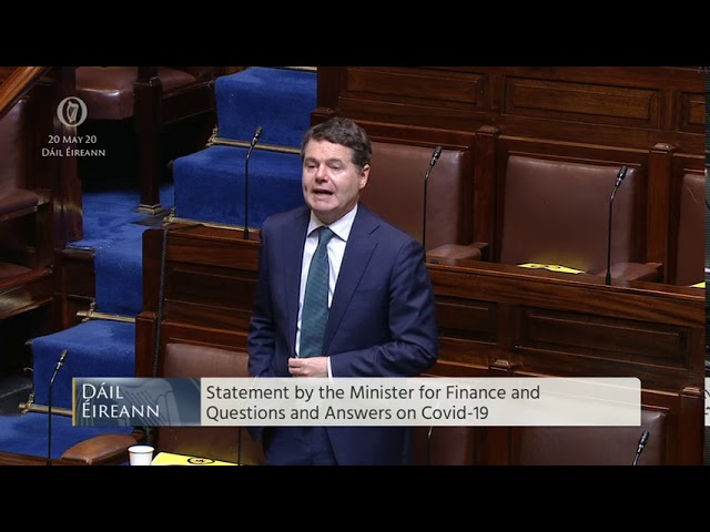 Deputy John McGuinness - speech from 20 May 2020