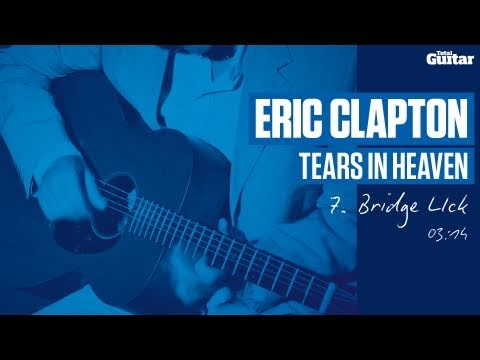 Guitar Lesson: Eric Clapton 'Tears In Heaven' -- Part Seven -- Bridge Lick (TG213)