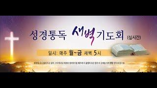성경 통독 새벽기도회 | 2021.7.19 | 아모스 …