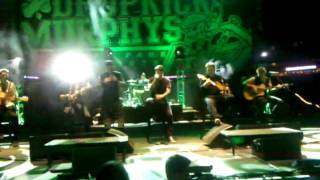 Dropkick Murphys-Devil's Brigade(Acoustic) 9/9/11 Fenway Park Boston, MA USA