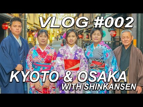 Holiday in Kyoto & Osaka, Japan - March 2016 HD  #VLOG002