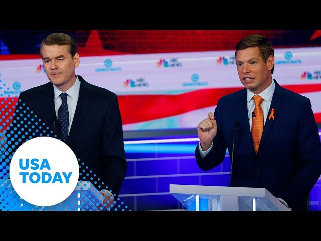 Eric Swalwell targets length of Joe Biden's career | USA TODAY