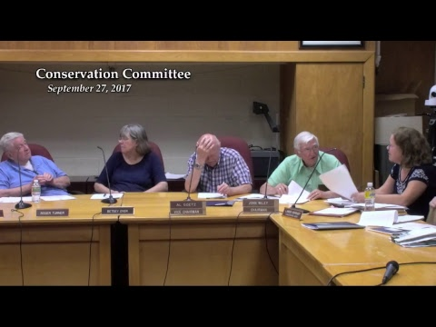 Conservation Committee - 09.27.17