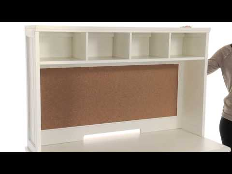 Update your Study Area with this Practical and Stylish Desk and Hutch Set   PBteen