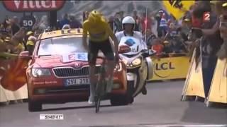 Incroyable attaque de Chris Froome dans le Mont Ventoux !
