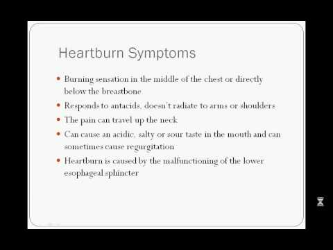 Differentiating Heartburn from Angina Symptoms